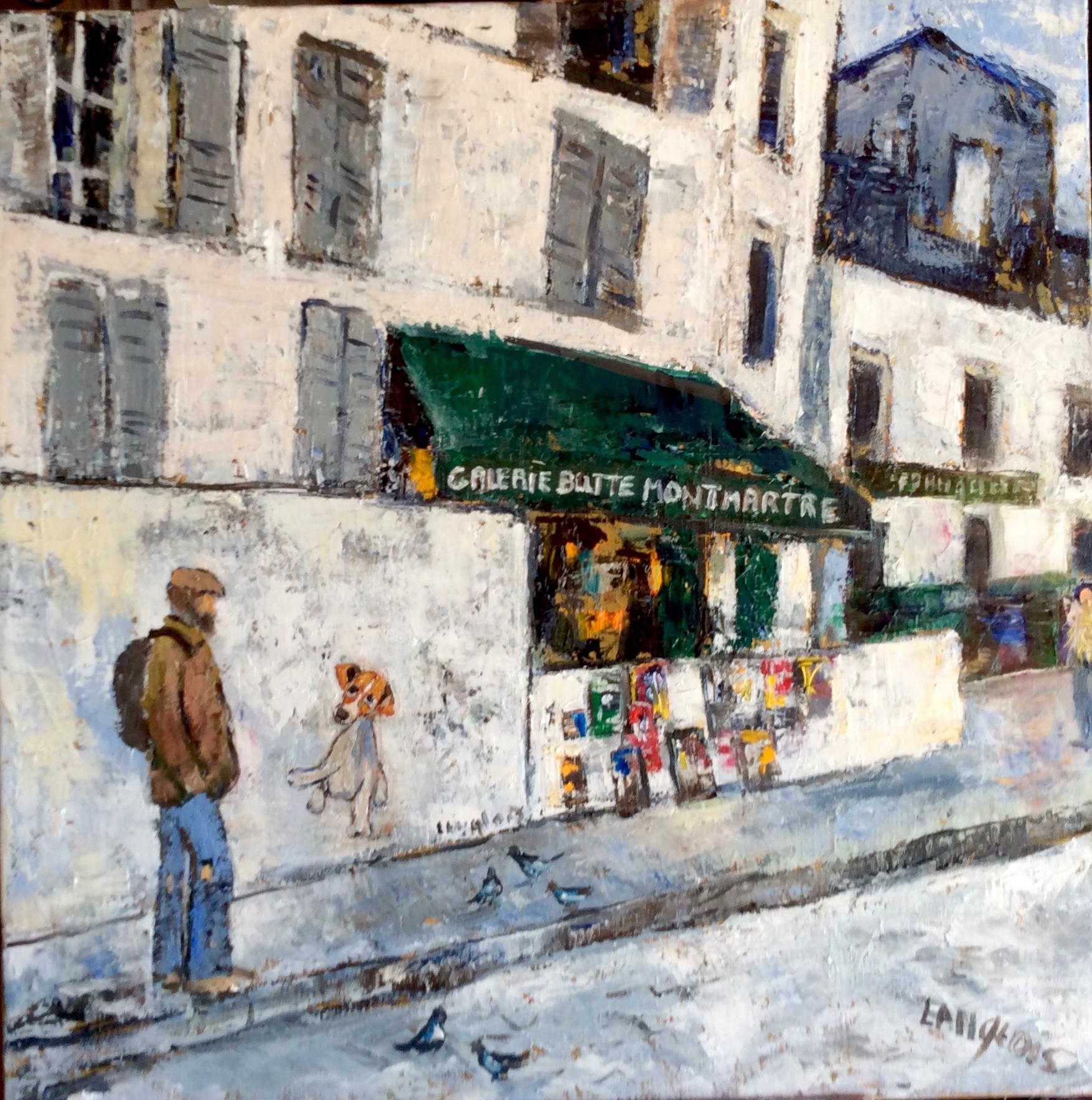 Montmartre rue norvins la rencontre